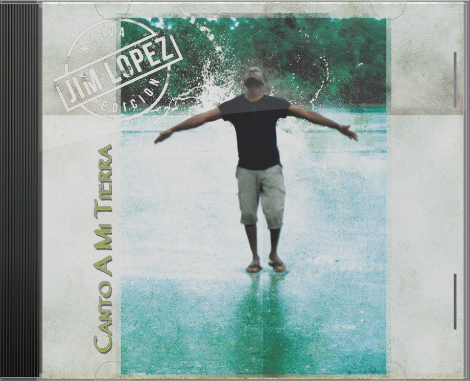 Jaquette cd Jim Lopez y la nueva edicion
